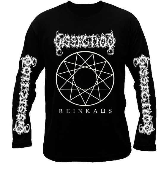 Dissection Reinkaos long sleeve t-shirt. Death metal