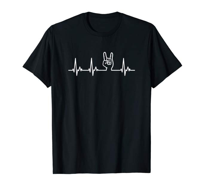 TShirt Chip Fork My Heart Beats for Heavy Metal
